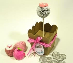 Boîtes à cake pops individuelles