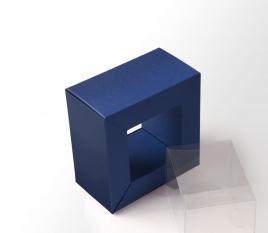 Boîte cadre transparent