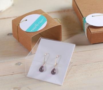 Boucles d'oreilles Box