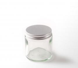 Bocaux en verre pour crèmes ou produits de beauté