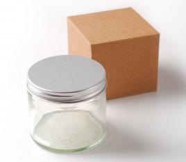Flacon en verre 250ml pour les bougies aromatiques
