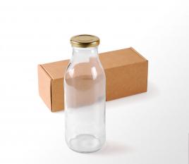 Bouteilles pour des jus ou du lait