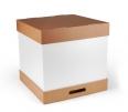Boîte carton à gâteaux de grandes dimensions
