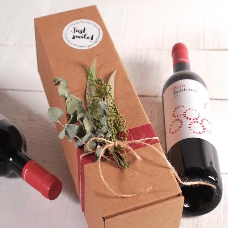 Boîte pour envoyer des bouteilles