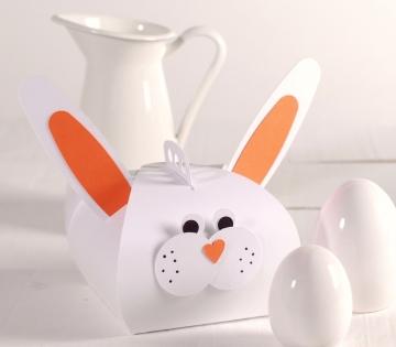 Boîte à Gâteaux avec un lapin