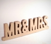 Mr & Mrs en carton