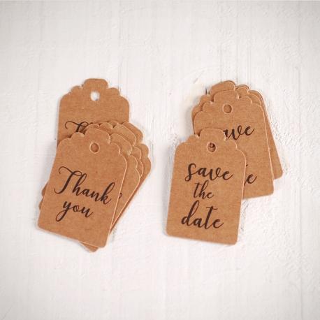 Étiquettes décoratives pour mariages