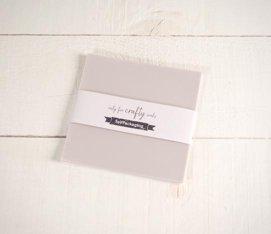 Feuilles de papier bristol Végétal Extra Blanche 16,5x 16,5cm