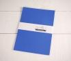 Feuilles de papier bristol végétal BleuA4