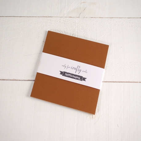 Feuilles de papier bristol Stardream Or 16,5x 16,5cm