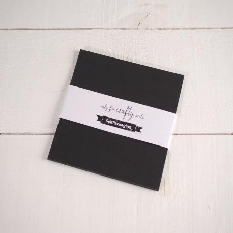 Feuilles de papier bristol Graphite 16,5x 16,5cm