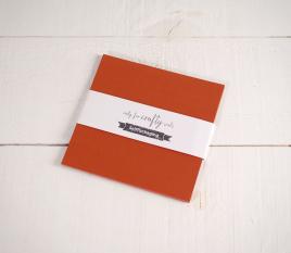 Feuilles de papier bristol Cuivrées 16,5x 16,5cm