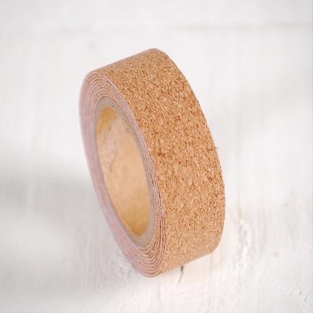 Washi tape en liège lisse