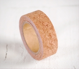 Washi tape en liège avec texture