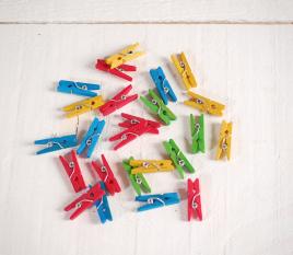Petites pinces colorées