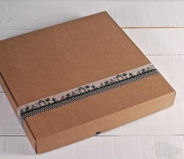 Boîtes à pizza couleur unie