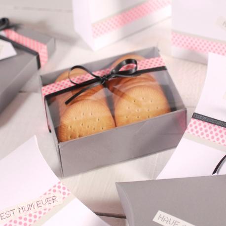 Petite boîte pour offrir des biscuits