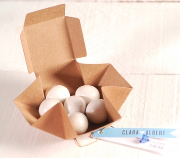 Petites boîtes pour cadeaux de mariage