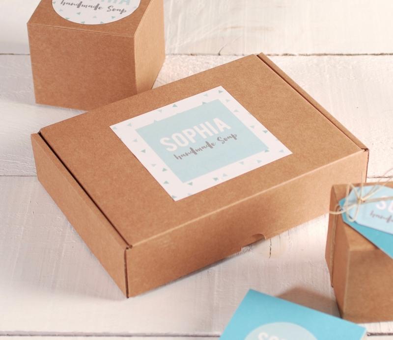 Petite bo te pour produits artisanaux - Petite boite allumette a personnaliser ...