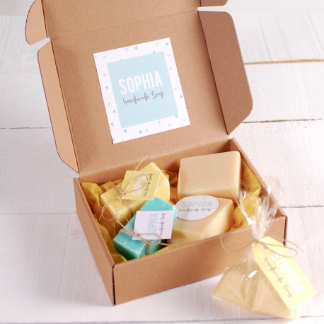 Petite Boîte pour Produits Artisanaux