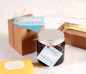 Boîte pour crèmes artisanales