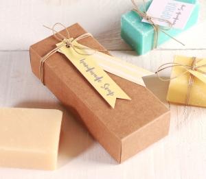 Boîte pour offrir des savons