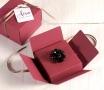 Petite boîte à bijoux décorée