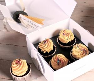 Boîte pour Offrir des Cupcakes