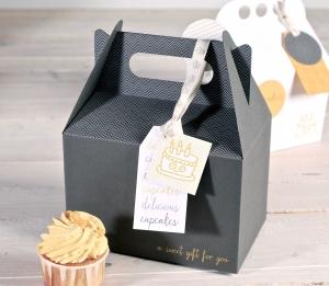 Boîtes originales pour produits pâtissiers