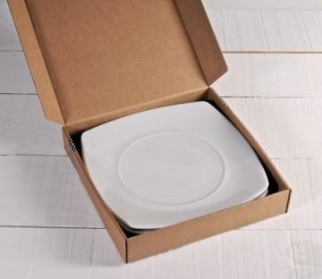 Boîtes à pizza moyenne couleur unie