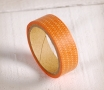 Washi tape géométrique orange