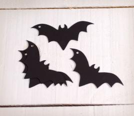 Chauves- souris en papier bristol