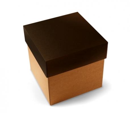 Boîte d'expédition avec couvercle