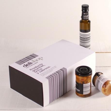 Caja para productos gourmet