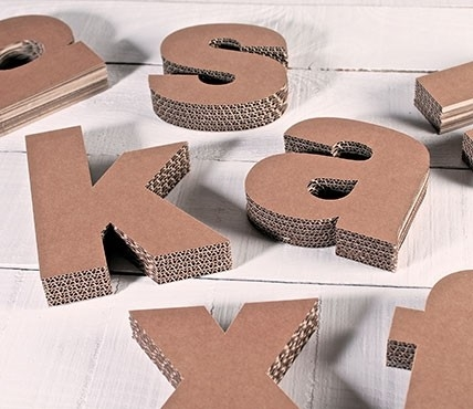 Lettres minuscules en carton d coratives - Scrabble decoracion ...