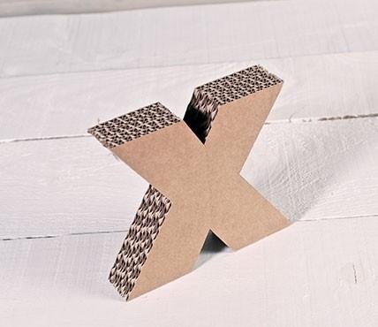Lettres Minuscules en Carton