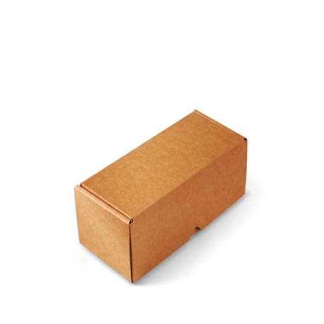 Boîte d'expédition de forme allongée
