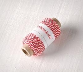 Corde en Coton Bi-Couleur Mini
