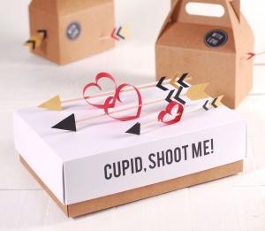 Boîte avec couvercle pour la Saint Valentin