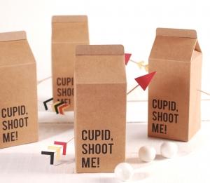 Boîte Brick décorée avec impression