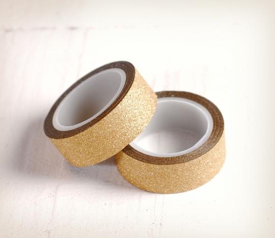 Washi tape paillettes