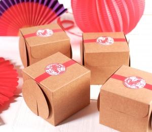 Boîte pour des cadeaux, style oriental