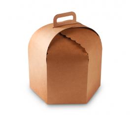 Boîte à gâteaux et panettones