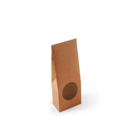 Boîte avec fenêtre pour la nourriture