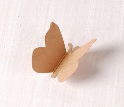 Papillons en Carton 10 pcs.