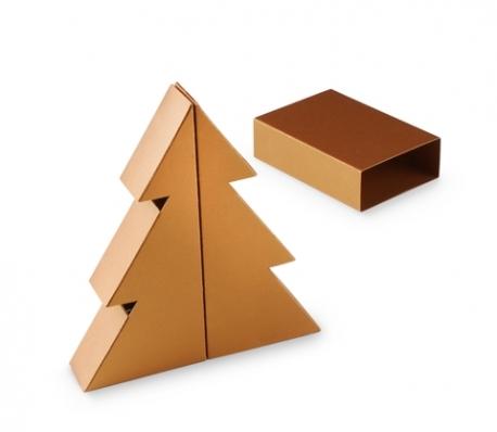 Boîte sapin de Nöel en carton