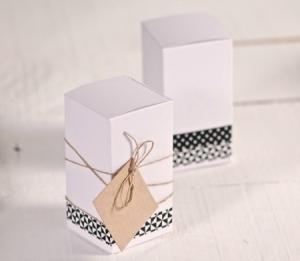 Boîtes rectangulaires en carton