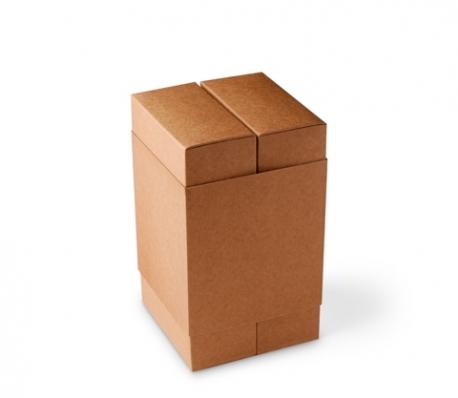 Boîte carton bac et manchon
