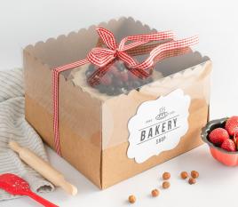 Boîtes à Gâteaux Emballages Tartes Et Gâteaux Selfpackaging