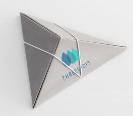 Boîte triangulaire pour mariage
